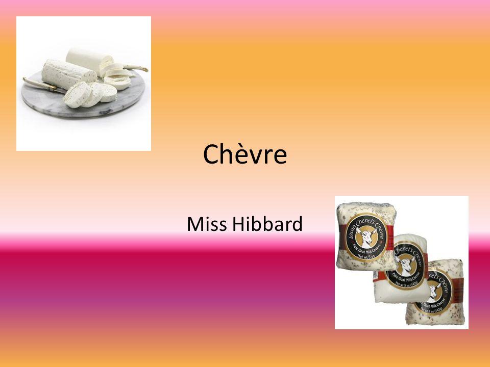 Chèvre Miss Hibbard