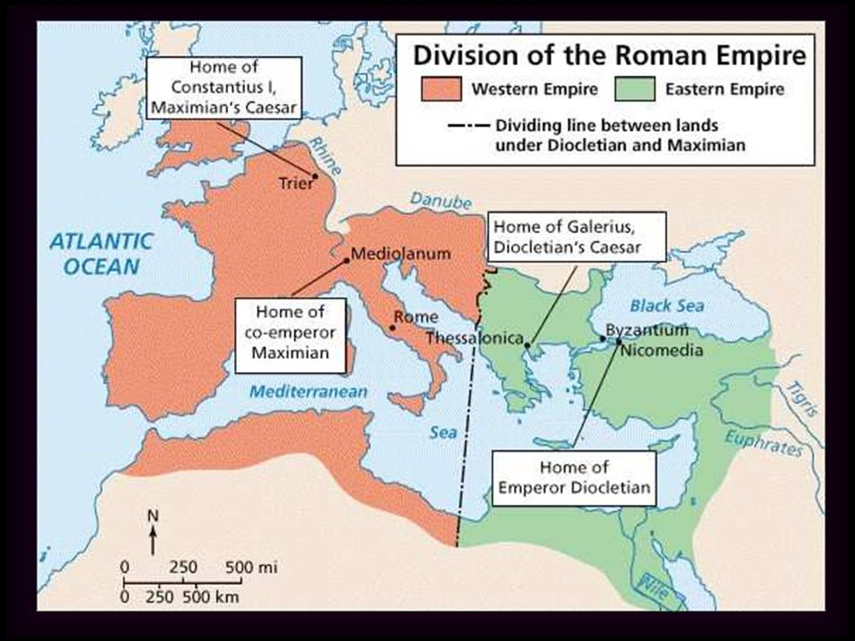 III.Emperor Constantine A. Came to power in 312 CE and ruled both halves of the empire.
