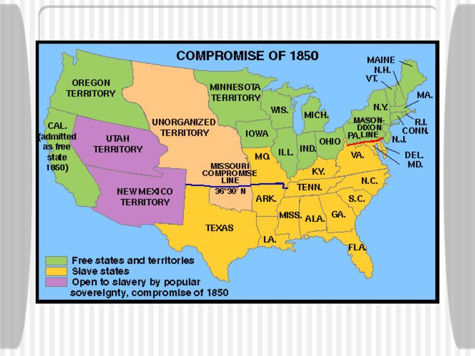 Kansas-Nebraska Act 1854 1.The Nebraska territory was to be divided.