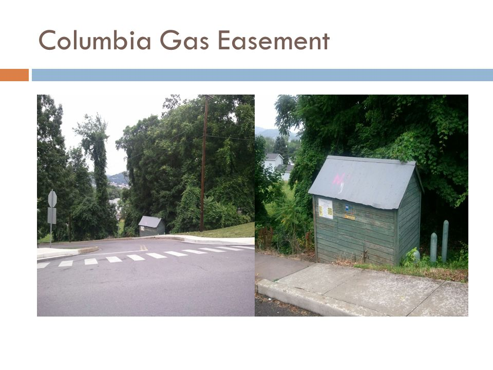 Columbia Gas Easement