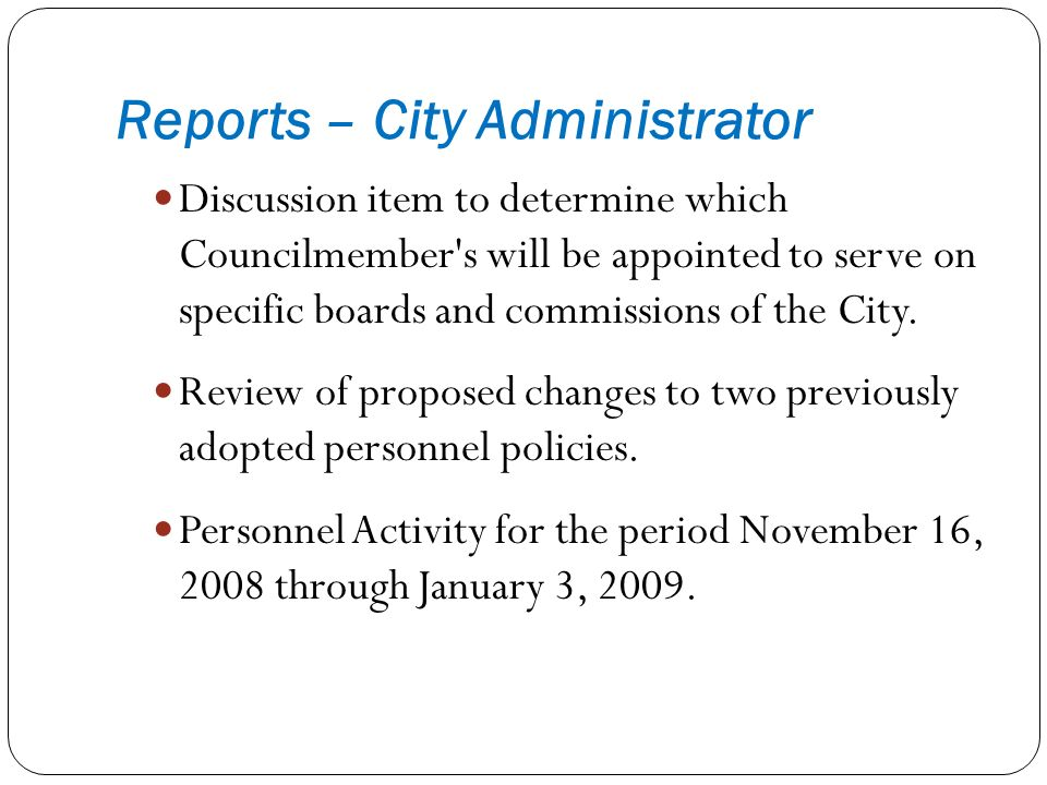 Discussion item to determine which Councilmember s will be appointed to serve on specific boards and commissions of the City.