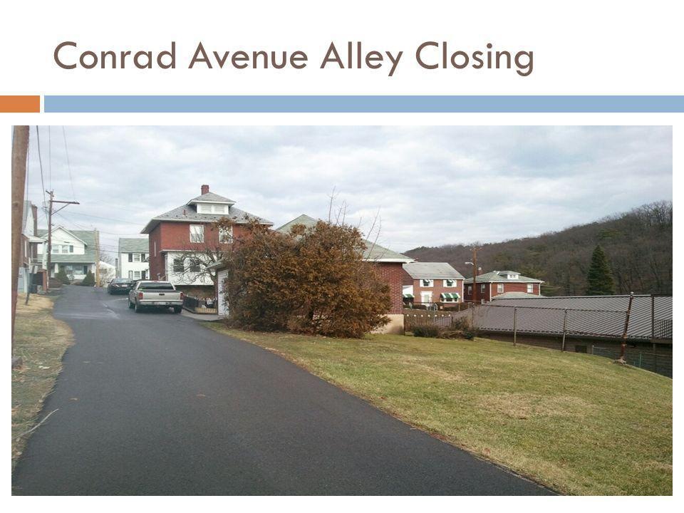Conrad Avenue Alley Closing