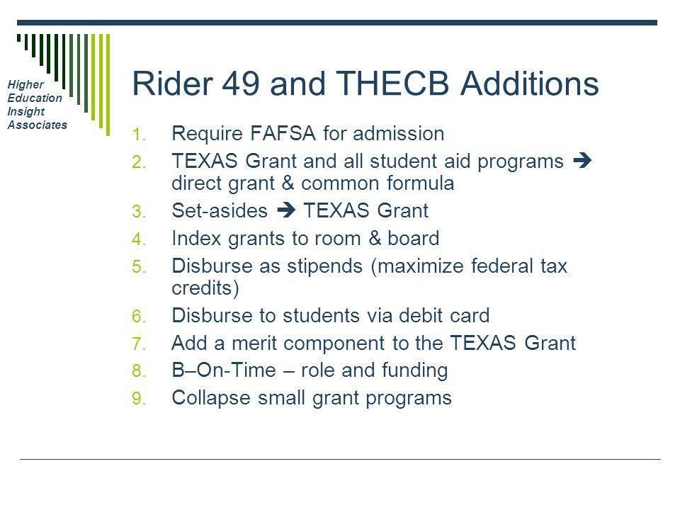 Race/EthnicityIncomeClass Rank Source: College Board SAT, 2007 College-Bound Seniors, State Profile Report, Texas.