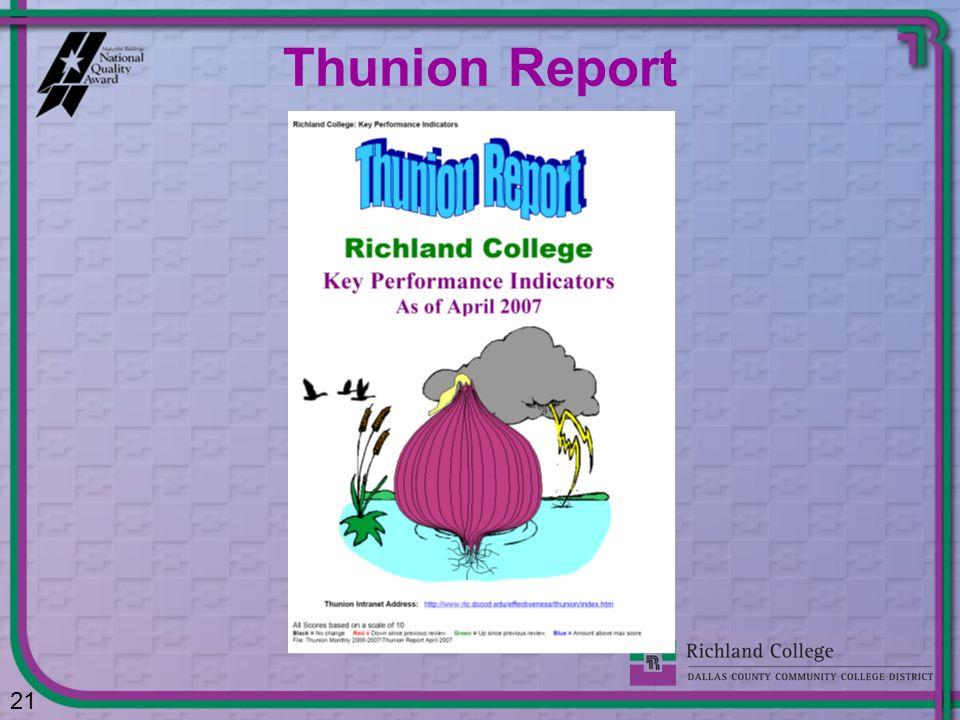 Thunion Report 21
