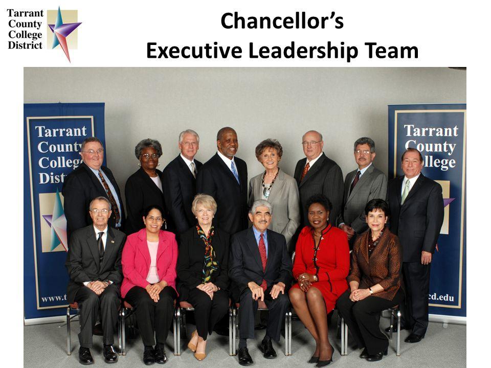 Chancellors Executive Leadership Team
