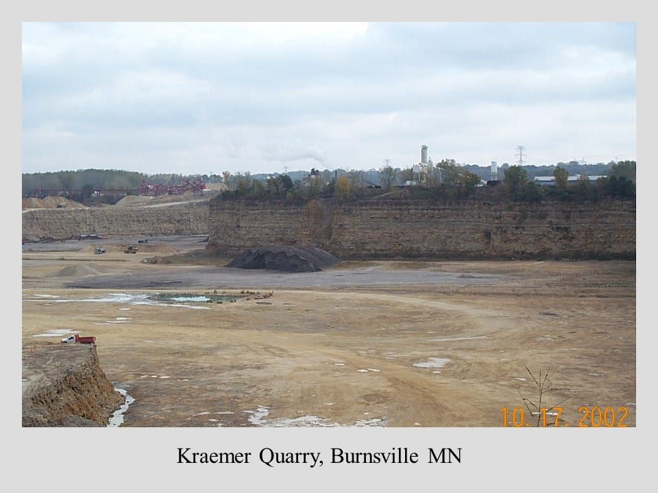 Kraemer Quarry, Burnsville MN