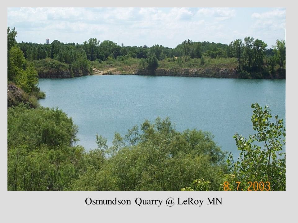 Osmundson Quarry @ LeRoy MN