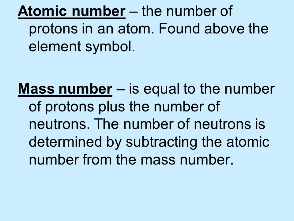 Bell Work 11/23/10 Determine the name of each isotope 1.Protons = 62.