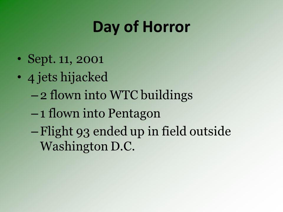 Day of Horror Sept.