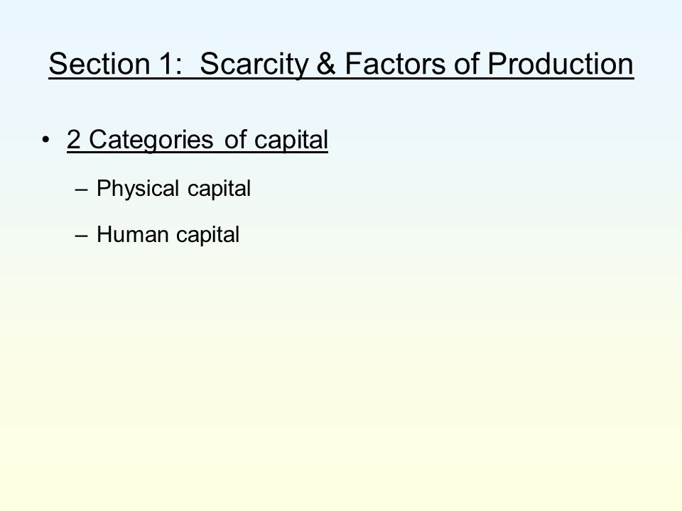 Chapter 1: What Is Economics.