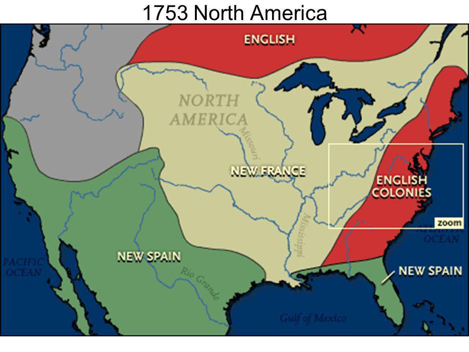 1753 North America