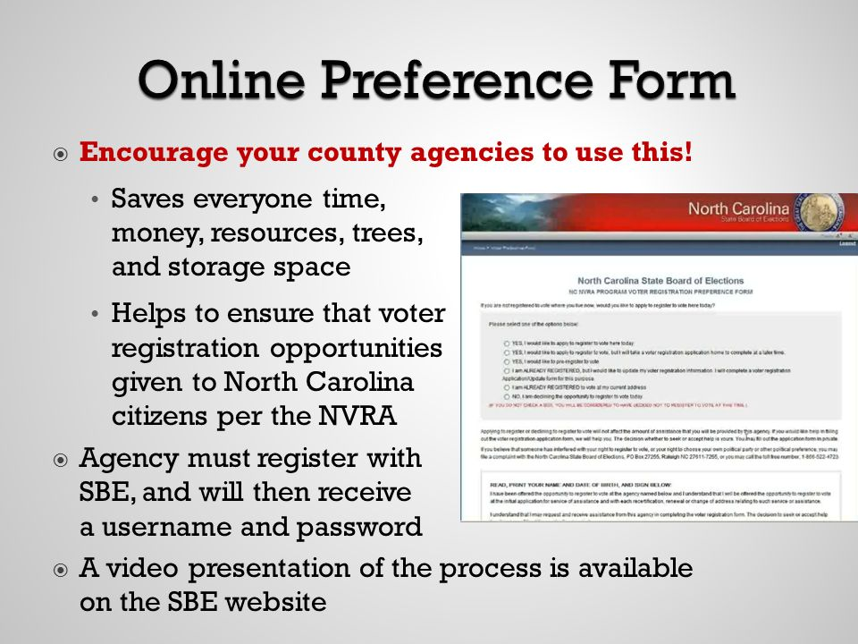 Encourage your county agencies to use this.