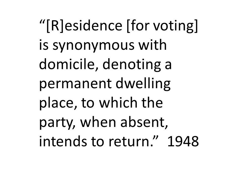 A domicile, once established, is presumed to continue.