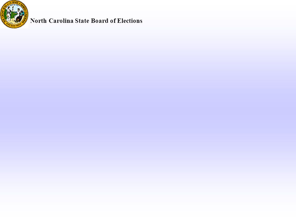 North Carolina State Board of Elections