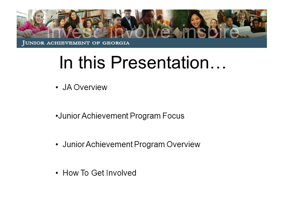 What is Junior Achievement.