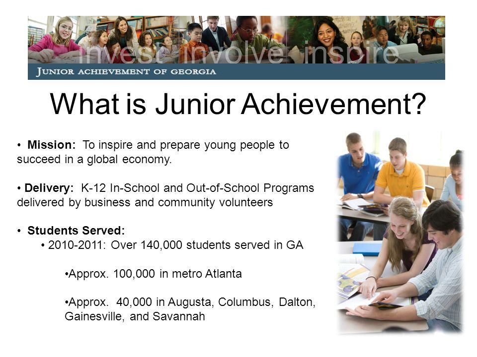 What is Junior Achievement.