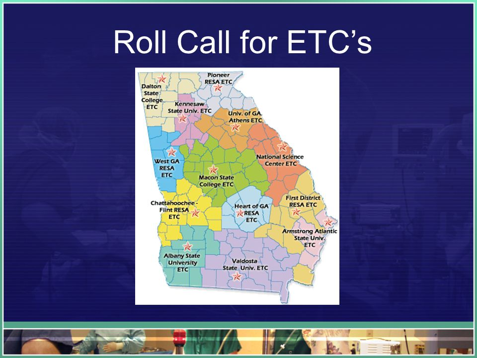 Roll Call for ETCs