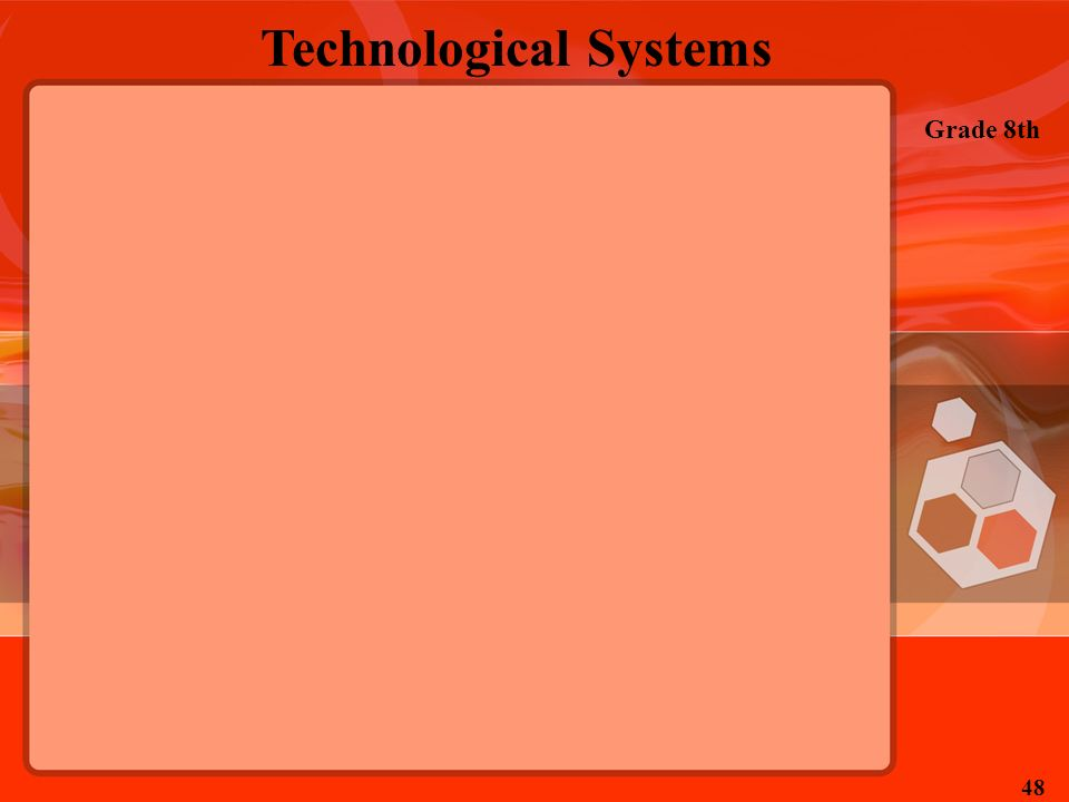 Technological Systems Grade 8th 48