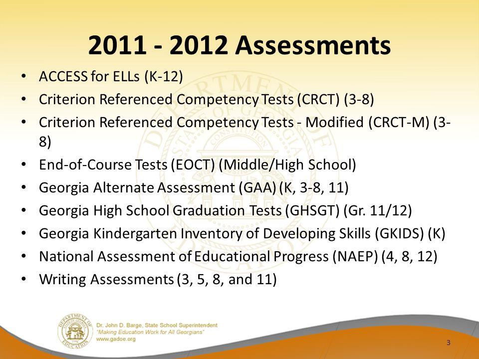 Assessment Administration 34