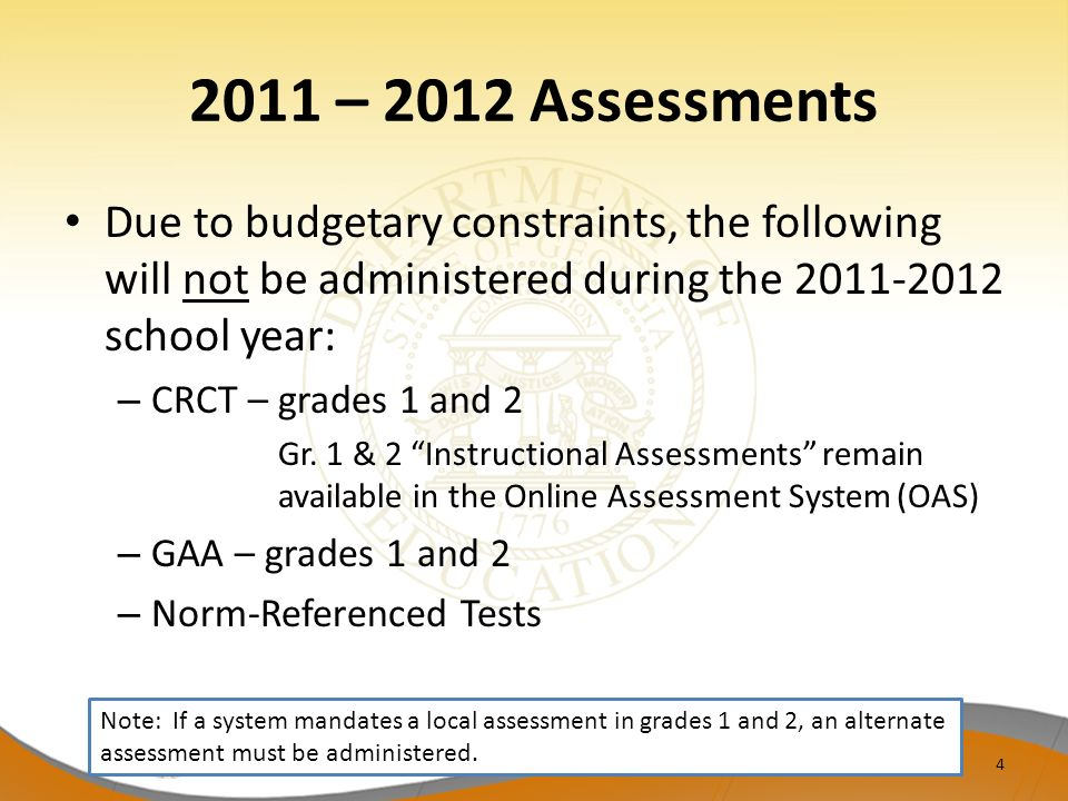Test Security Reminders Be thoroughly familiar with the Student Assessment Handbook and test administration manuals.
