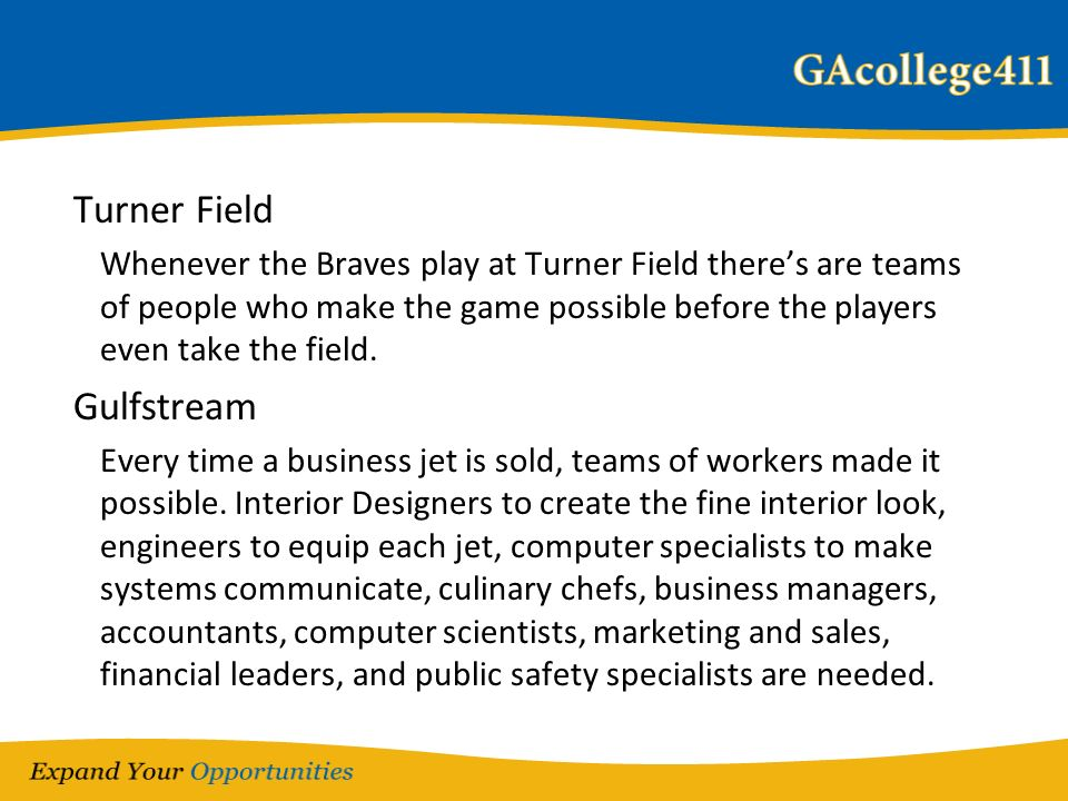 Turner Field Whenever the Braves play at Turner Field theres are teams of people who make the game possible before the players even take the field. Gu
