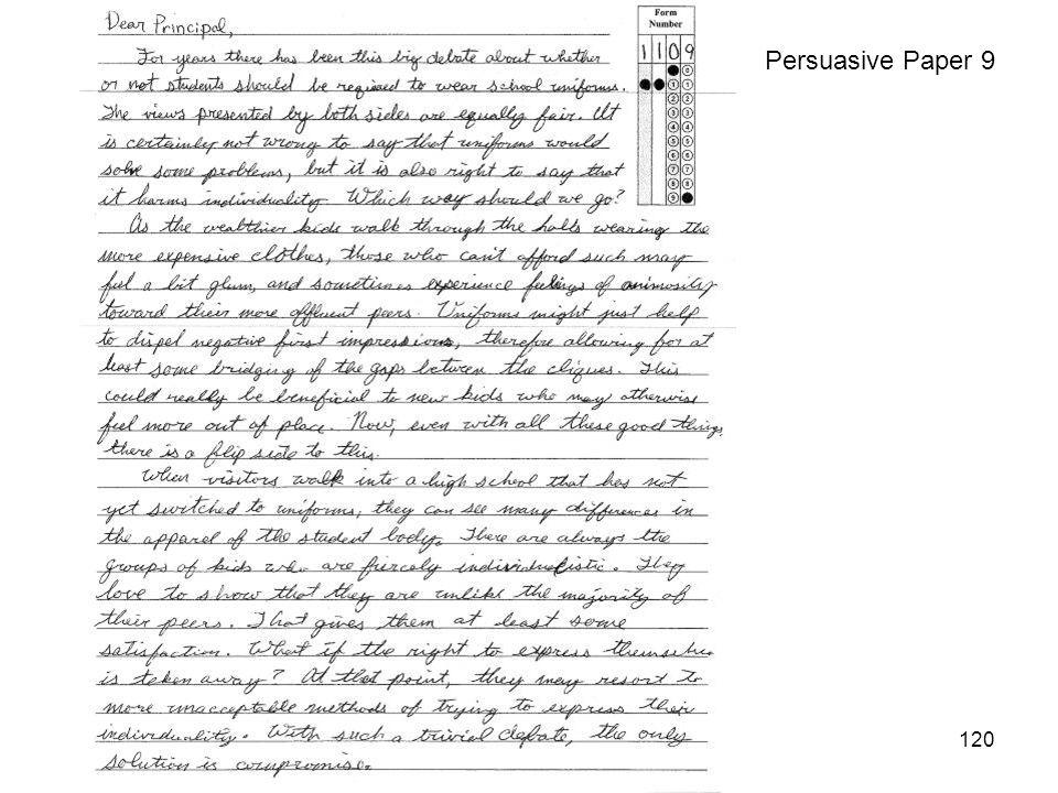 120 Persuasive Paper 9