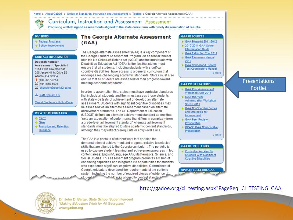 Updates for the 2011-2012 Administration Two different SDIFs will be utilized beginning with the 2011-2012 administration of the GAA SDIF for grades K and 3-8 – Form is tan SDIF for High School (regular administration and retesters) – Form is orange 15
