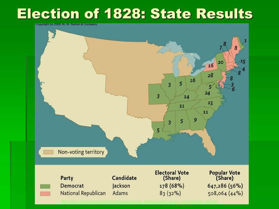 Election of 1828: State Results http://www.columbia.edu/itc/history/foner/jacksonian_america/week5-second_party/election_1828.jpg