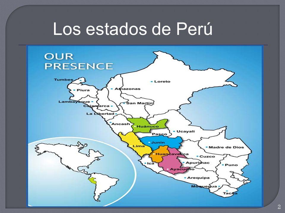 Pasco is a region in central Peru.Its capital is Cerro de Pasco.