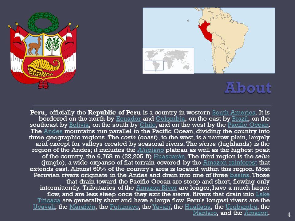 Ica is a region in Peru.