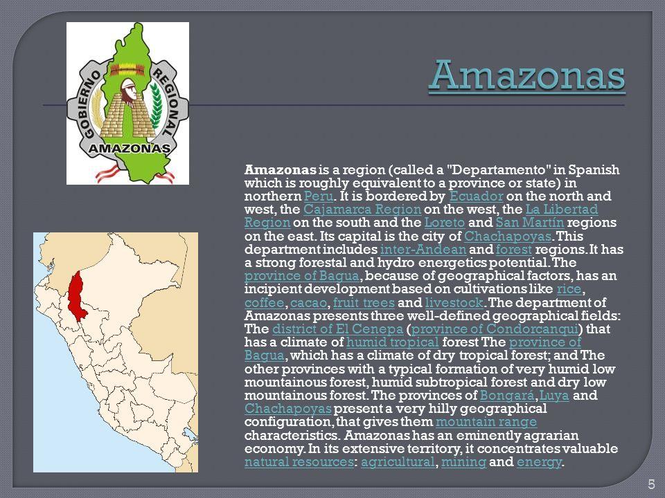 Ancash is a region in northern Peru.