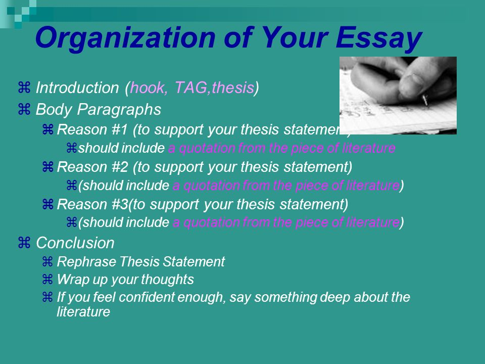 Introduction To A Thesis