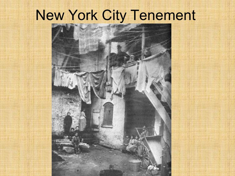 New York City Tenement