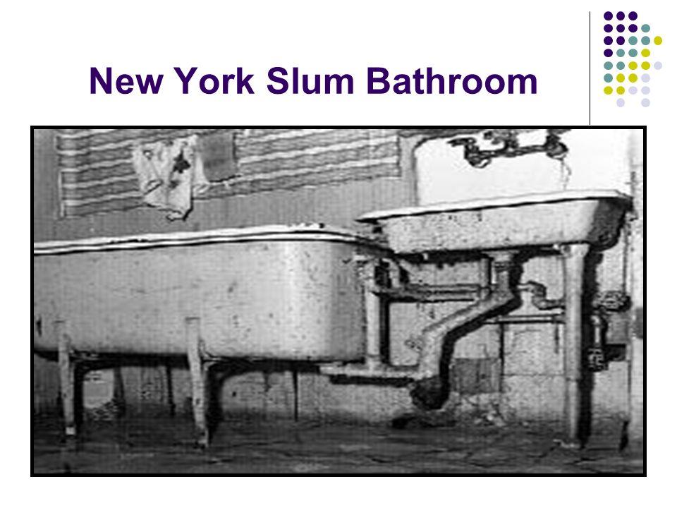 New York Slum Bathroom
