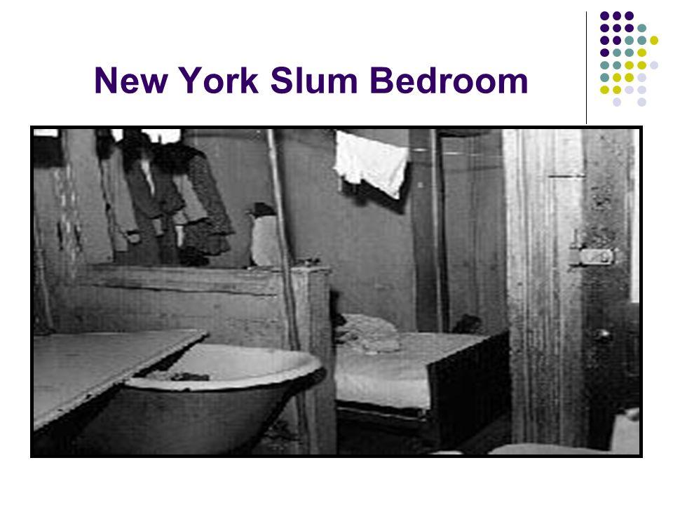 New York Slum Bedroom