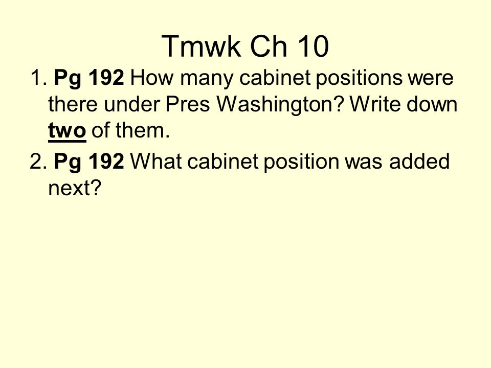 1st Leaders 1789 -1797: George Washington: 1st pre –Selected1st Pres.