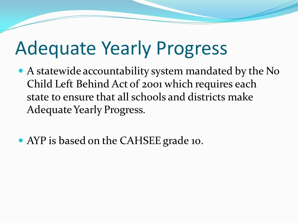 Our Schools 3-Year CST Summary What do you notice.