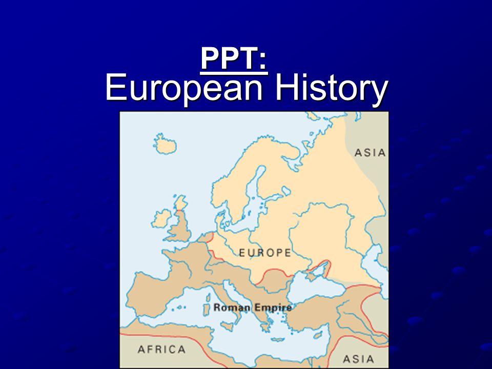 European History PPT: