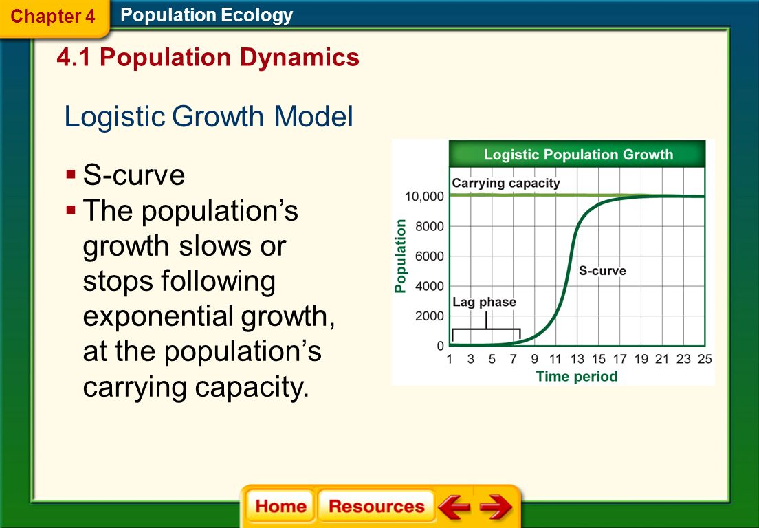 Population Ecology Exponential Growth Model J-curve; as population gets larger, it grows faster Exponential growth occurs when the growth rate is prop
