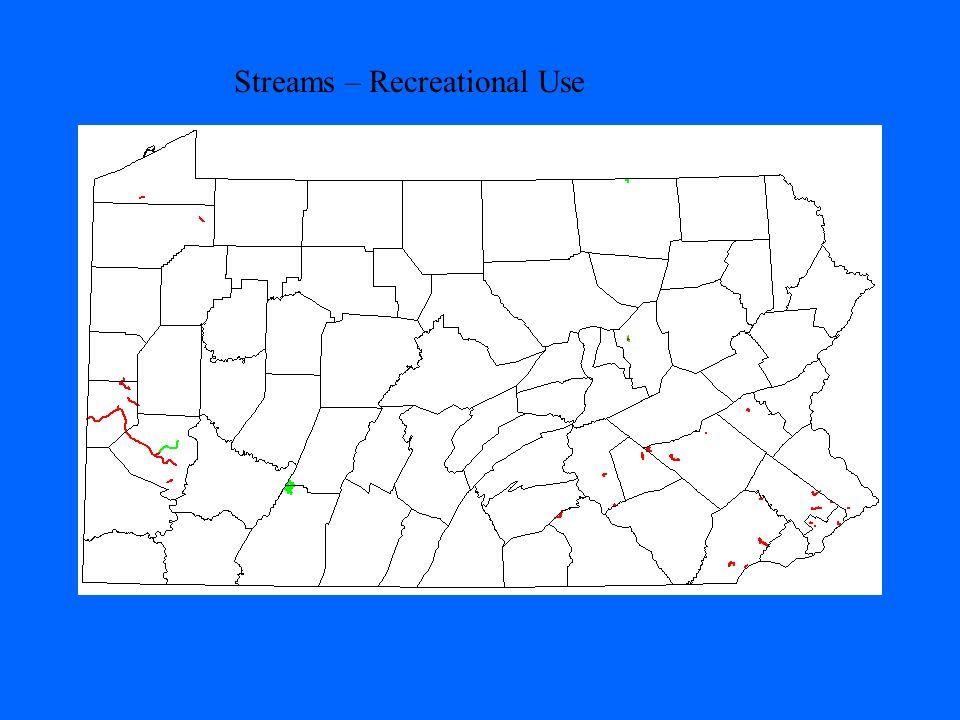 Streams – Recreational Use