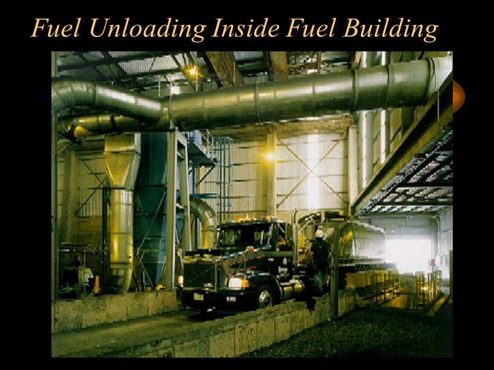 Fuel Unloading Inside Fuel Building