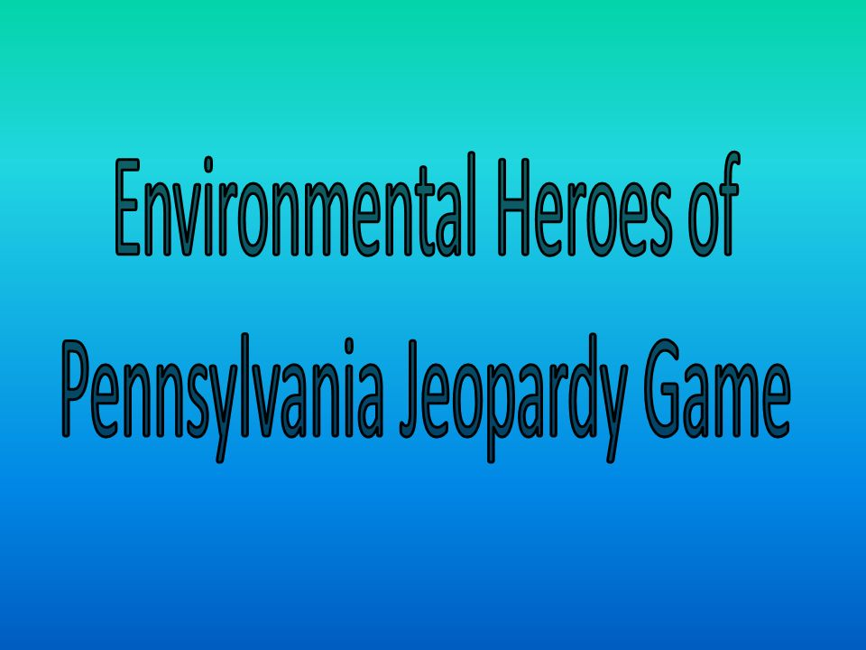 This environmental hero wrote about Pennsylvanias glacial history