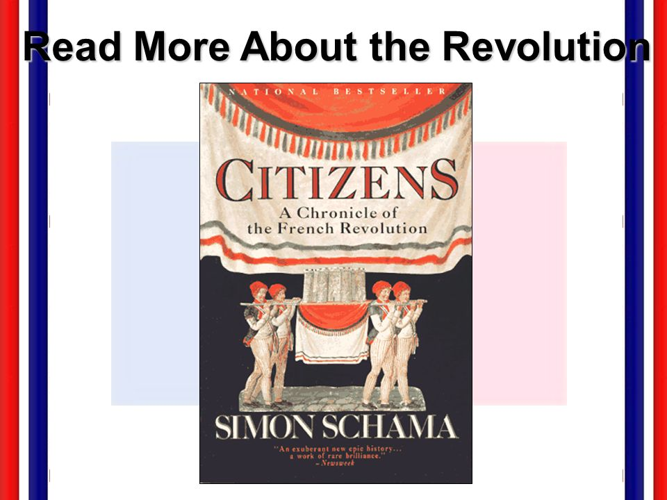 Read More About the Revolution