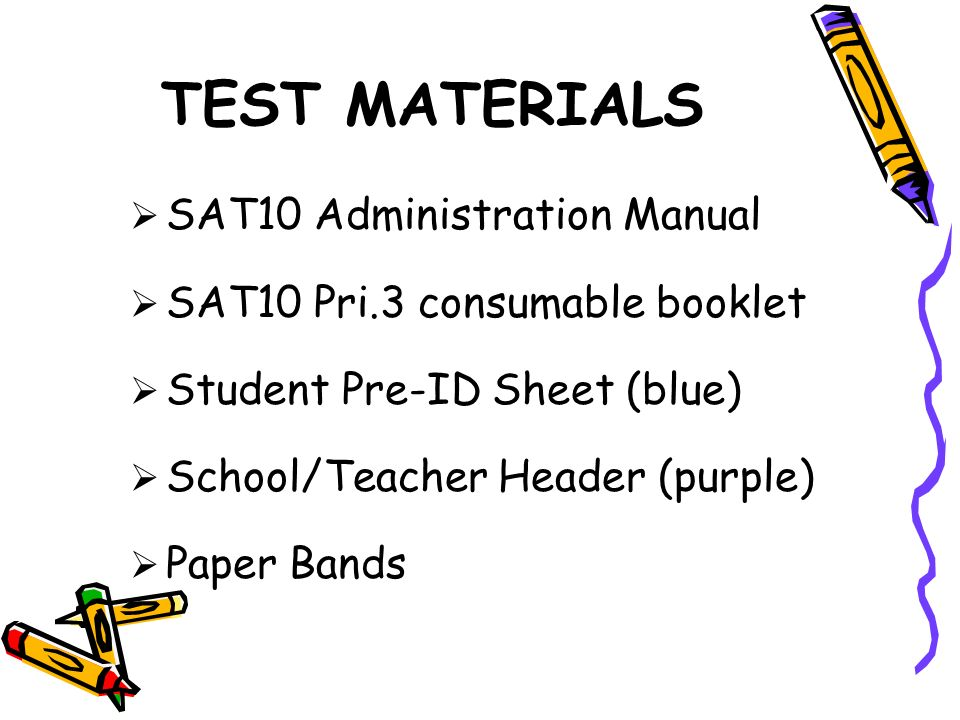 TEST ADMINISTRATION SAMPLE SCHEDULE Wednesday, July 28 Gr3Rd Comp@50 min.