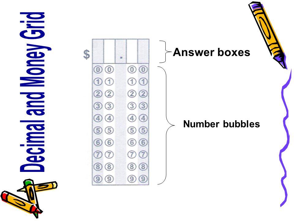 Number bubbles