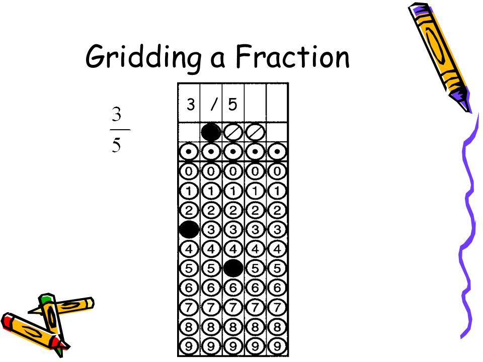 Gridding a Fraction 3 / 5