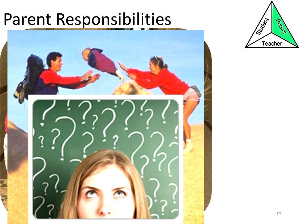 Parent Responsibilities 10