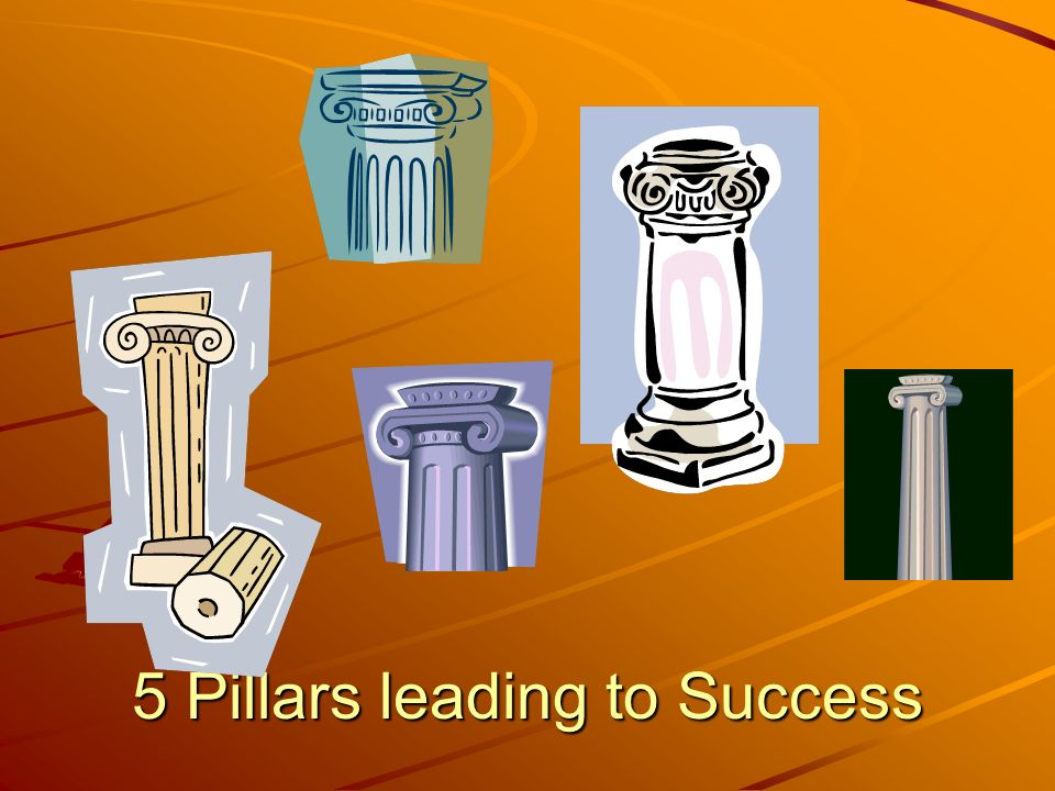 5 Pillars leading to Success