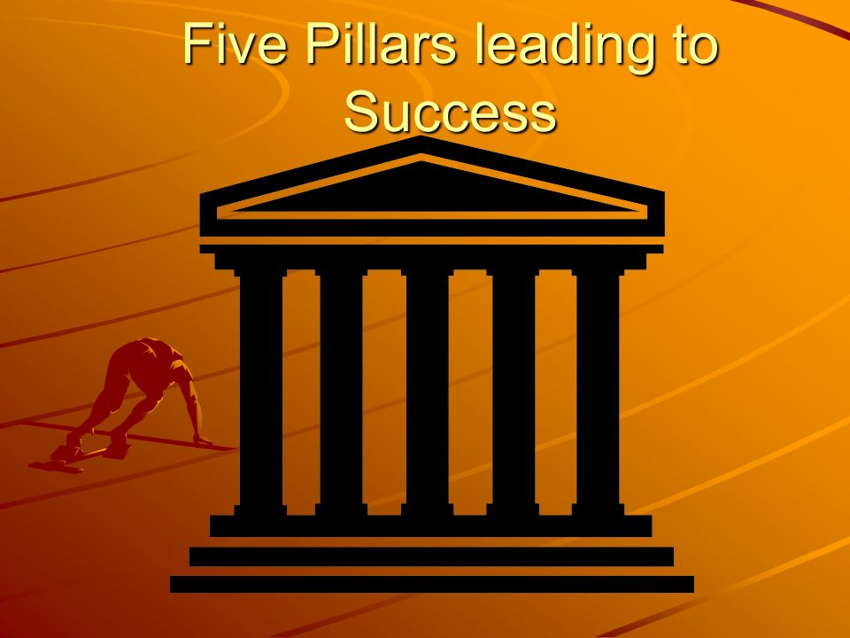 Five Pillars leading to Success
