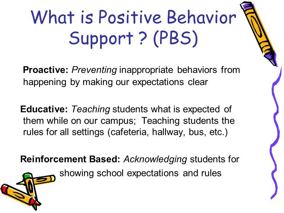 HOW IS PBS USED AT SBE.